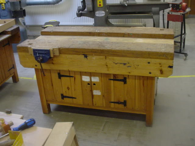 Wood work benches diy blueprint plans download buy wooden
