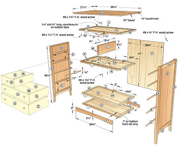 woodworking building a dresser