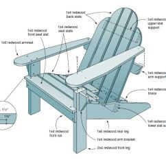 Wood Adirondack Chairs Plans Swivel Bar With Arms Desk Guide Reclining Chair Free Easy Diy Woodworking Projects Step