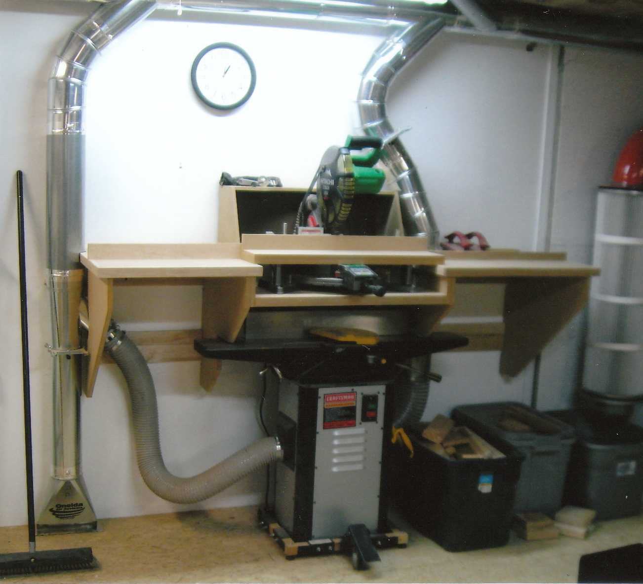 Wood Lathe Dust Collection