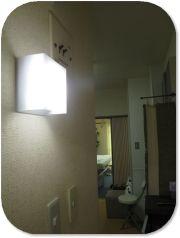 玄関ライトアップ