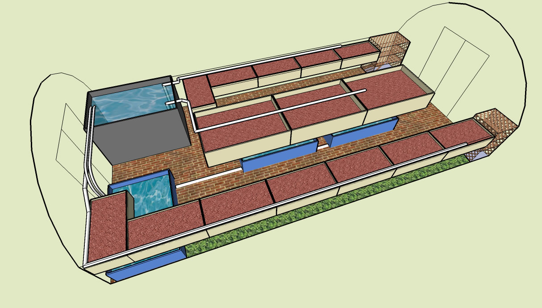 hight resolution of aquaponic