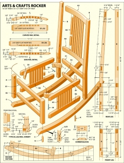 rocking chair design plans