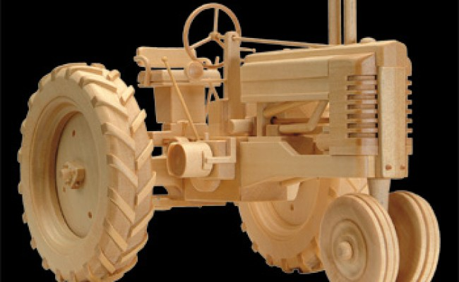 Wooden Toy Tractor Plans How To Build A Amazing Diy