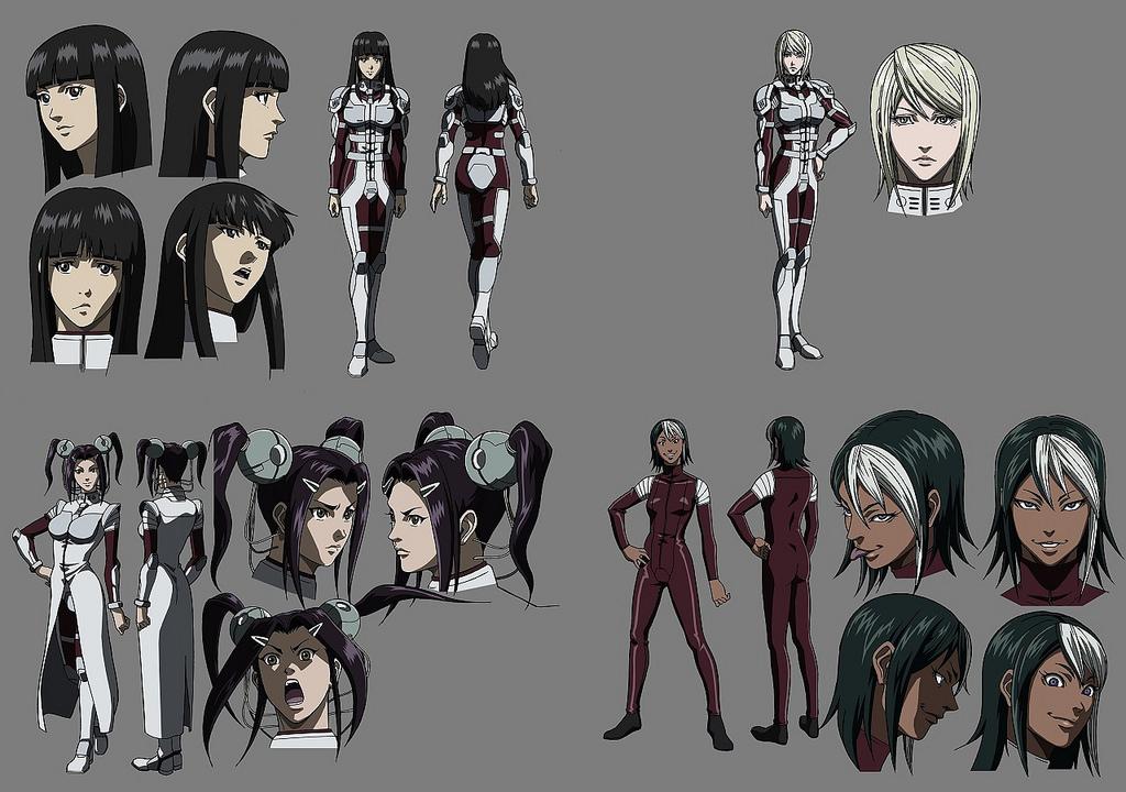 全2卷OVA《火星任務》人物造型公開! ★ACG(〞︶ 〝*)頹廢站★彡
