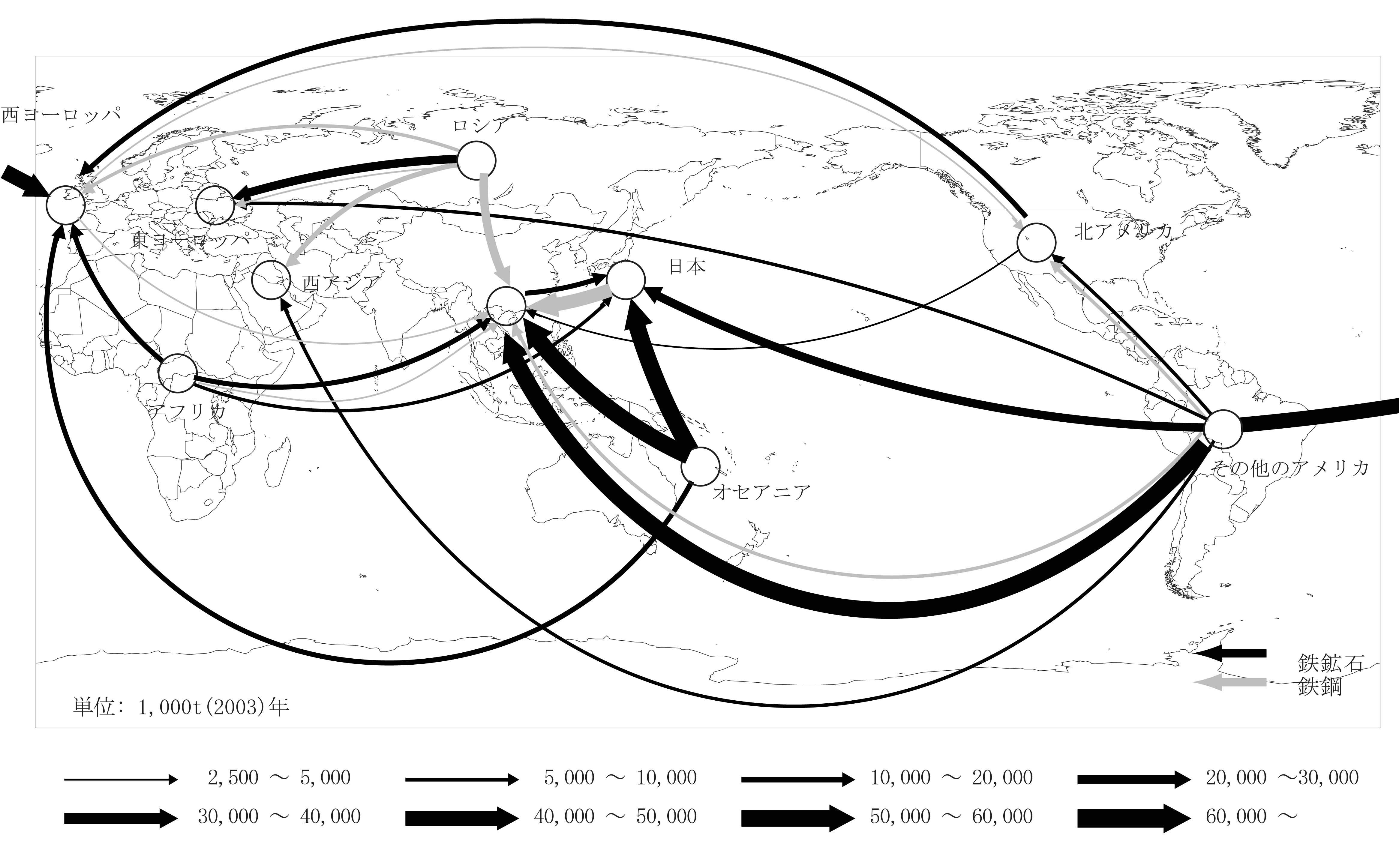2-100 國立環境研究所hp「マテリアルフローデータブック 第3版」の流線図を活用する③|地理屋にできること|