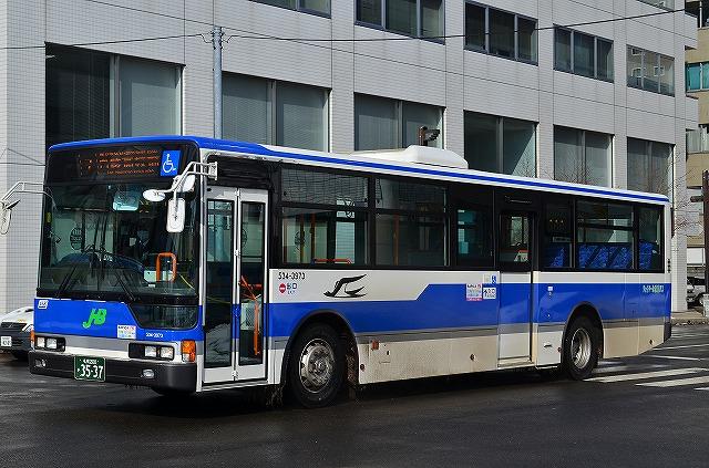 DPD自動再生中 ジェイ・アール北海道バス 534-3973
