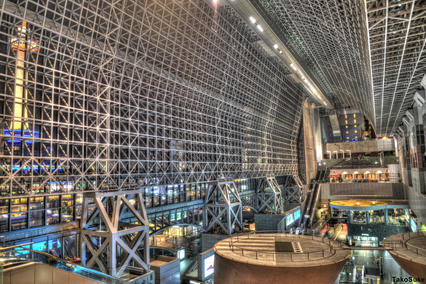 たこすけ寫真館 京都駅ビル