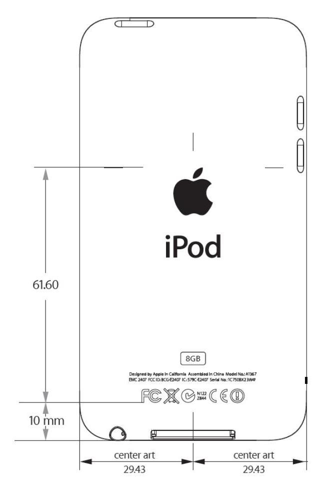 blog of mobile » Blog Archive » Apple新型iPod touch A1367が