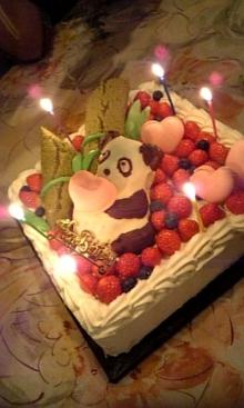 $「あるがままに生きる」-バースデーケーキ