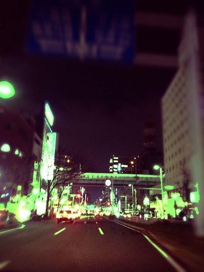 $「あるがままに生きる」-夜景