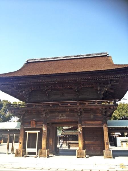 $「あるがままに生きる」-国府宮神社
