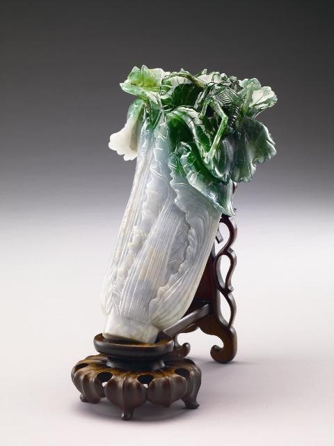 臺北故宮博物院~翠玉白菜~ | 青和書道會