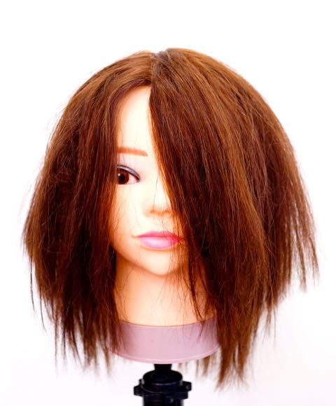 髪の毛の痛み
