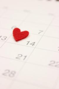 カレンダー_ハート