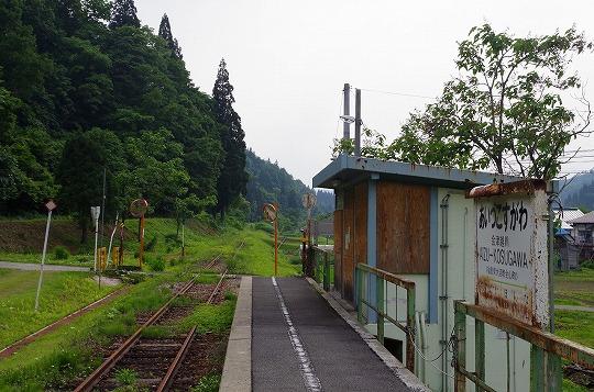 会津越川駅 5
