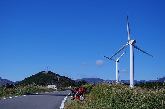 静岡県 東伊豆風力発電所
