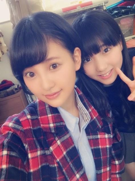 141029HKT48-AKB48兒玉遥(はるっぴ)田中美久