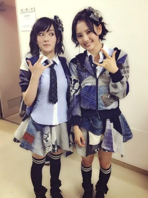 141023HKT48-AKB48兒玉遥(はるっぴ)山本彩