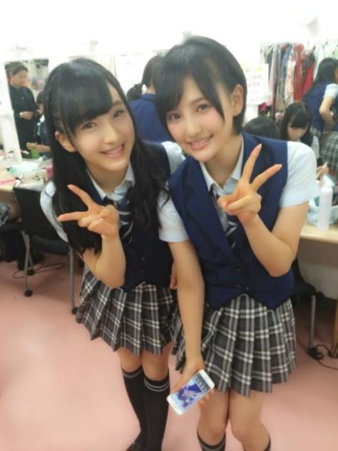 141002HKT48田島芽瑠-兒玉遥(はるっぴ)