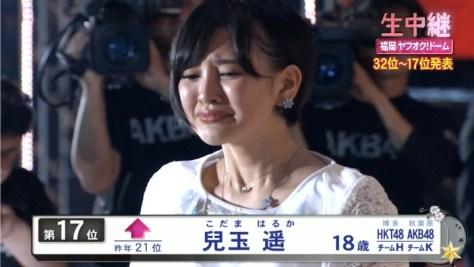 150606 この悔しさを絶対忘れるな! HKT48兒玉遥(はるっぴ)2