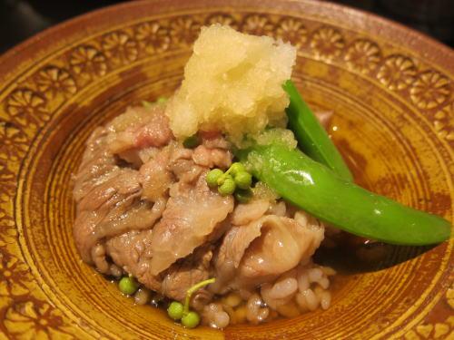 五穀米の出汁椀