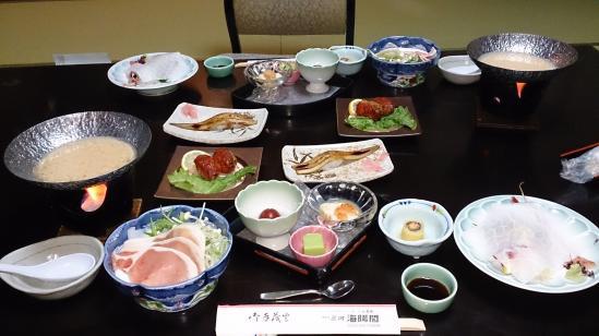 海陽閣夕食1