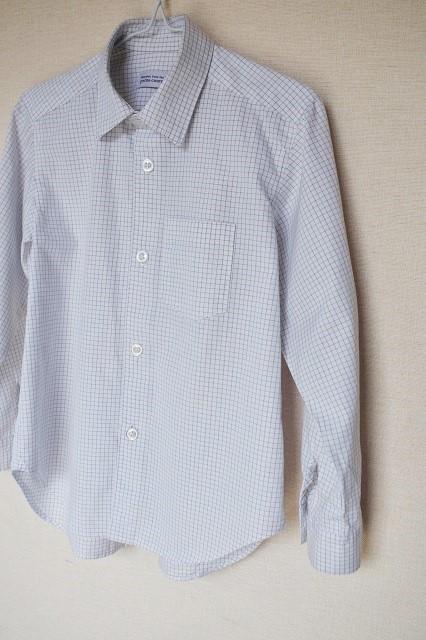 tema works 『HANDMADE note』 <BOYS> ワイシャツとネクタイ