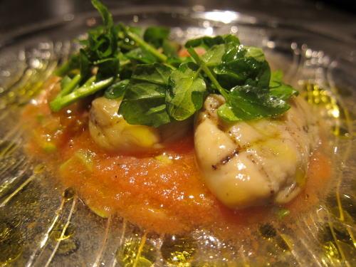牡蠣のスモーク