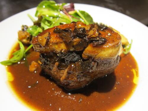 牛フィレ肉のロッシーニ