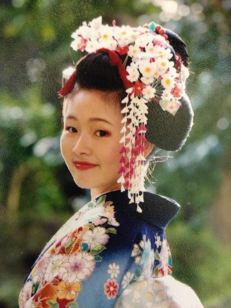 東京豊島區の美容室ローランサンヒロのブログ:ご自分の髪で日本髪!成人式!七五三!前撮り。