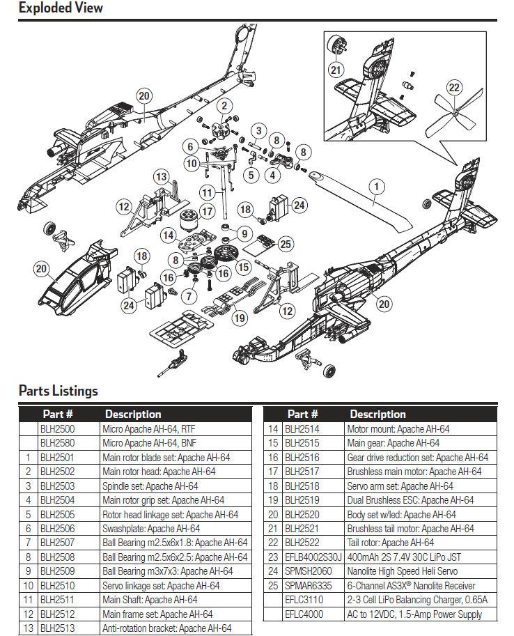 艦船プラモと小さなドローンが好き! Blade Micro AH-64 Apache の発売時期は? _1