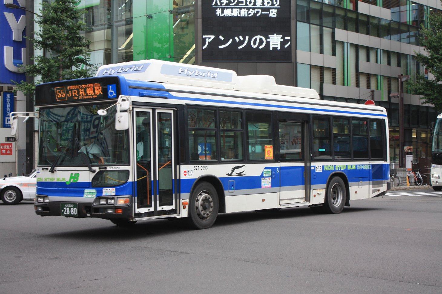JR北海道バス - 常磐線撮影記