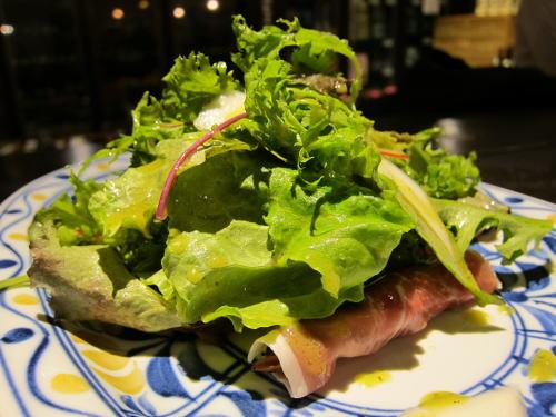 ホタルイカのサラダ仕立て
