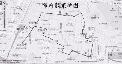 日野市内地図
