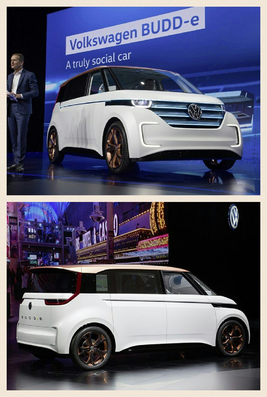 PHEV  VW4WD EV BUDDe CES2016