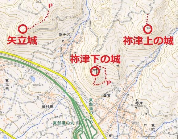 禰津上の城(1) ~ 緩やかな岡 | 武蔵の五遁、あっちへこっちへ