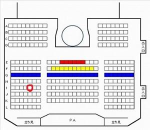 HKT48劇場座席図160217