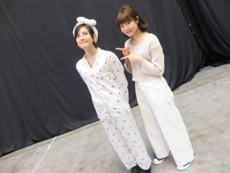160217HKT48尾崎支配人 HKT48-AKB48兒玉遥(はるっぴ)-1 with HKT48穴井千尋
