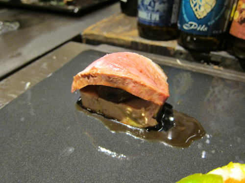 鴨とフォワグラと栗の渋皮煮