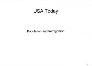 アメリカなう資料1