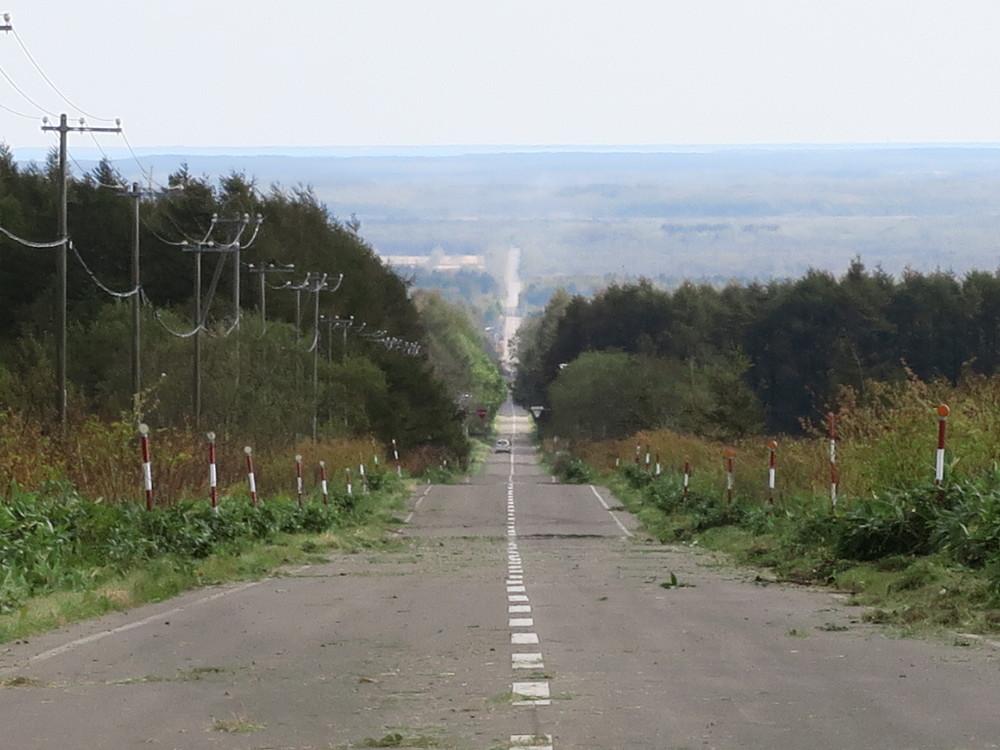 ぶらり標津 天空への道 - 北海道な風景
