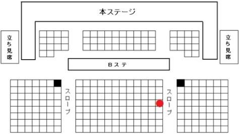 西鉄ホール座席図ブログ用160603e