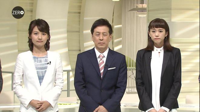 2016年5月31日放送「NEWS ZERO」の小正裕佳子と桐谷美玲