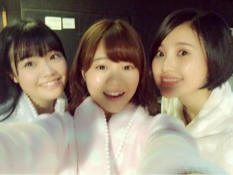 160309HKT48穴井千尋-1 with HKT48-AKB48兒玉遥(はるっぴ) HKT48本村碧唯