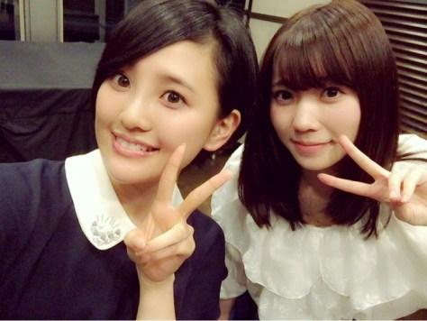 160519HKT48-AKB48兒玉遥(はるっぴ)-1 with HKT48ぴーちゃん