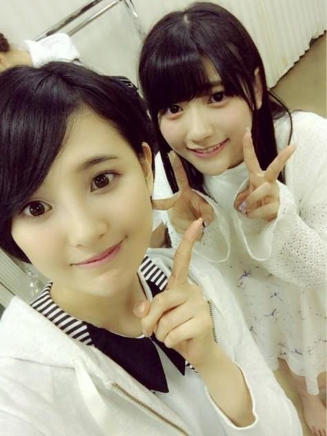 160519HKT48-AKB48兒玉遥(はるっぴ)-2 with HKT48まりり