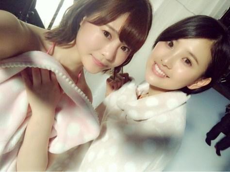 160421HKT48穴井千尋HKT48-AKB48兒玉遥(はるっぴ)