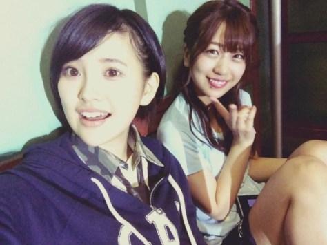 160611HKT48-AKB48兒玉遥755(はるっぴ)-1 with AKB48篠崎彩奈