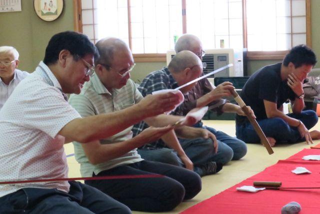 秋田刀剣研究會 2016年08月